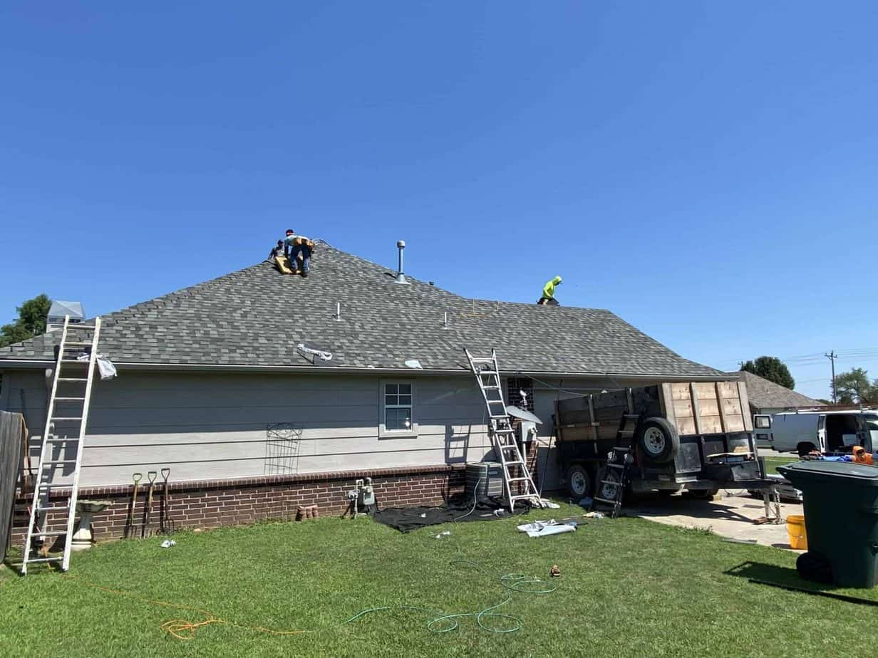 Roofing in Broken Arrow